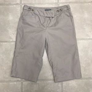 Ann Taylor Shorts - Ann Taylor Bermuda Khaki Shorts, Size 2